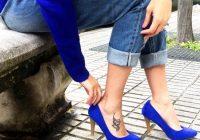 Cómo combinar unos zapatos azules