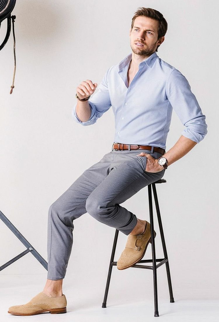 5 De Salud Formas Belleza Pantalón Y Combinar Gris Un OOTW1rxwq